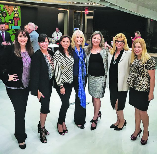 The Women's Forum gather to ignite their mind-to-body connection at Figurella USA at Doral.