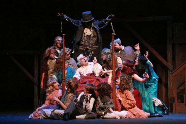 A Christmas Carol, The Musical welcomes in the holiday season