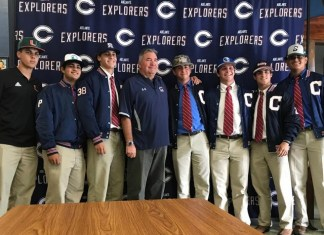 Columbus High baseball seniors sign college letters of intent