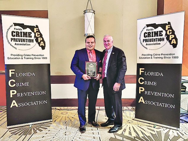 Pinecrest Police receive 'Crime Prevention Unit of the Year'