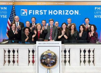 First Horizon rings bell at NYSE and with customers