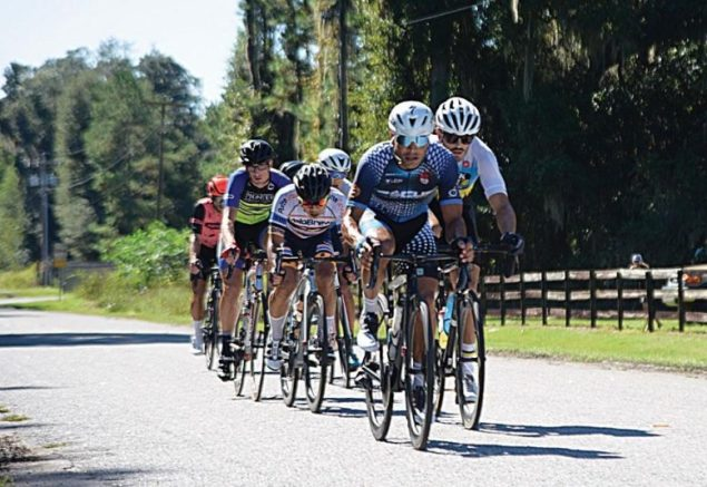 Cycling club combines fitness, friendship, community service