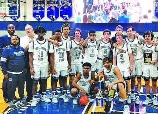 Gilliver Raiders boay's basketball team