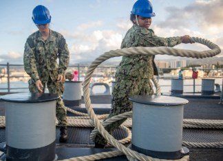 Miami Sailor serving aboard amphibious ship in Pacific