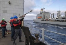 Miami Sailor serves aboard Navy cruiser in the Pacific