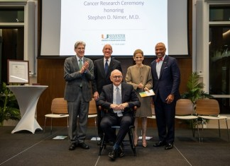 Sylvester, Comprehensive, Cancer, Center, director ,honored,endowed ,chair