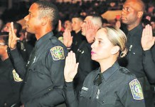 Miami-Dade Schools Police swears in 85 new officers during ceremony