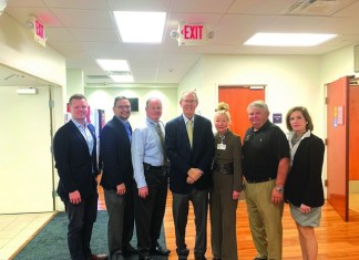 Jerry Libbin meets with Aventura Marketing Council/Chamber of Commerce Board Members