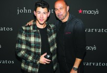 Nick Jonas and John Varvatos launch fragrance with fan Meet & Greet at Macy's