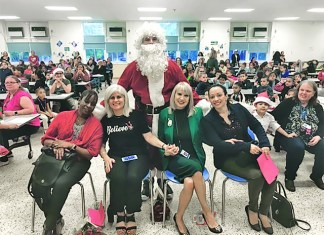 'Tis the season to warm hearts at Silver Bluff Elementary