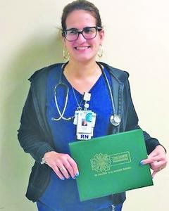 Hialeah ,Hospital, honors, Laura ,Gomez , DAISY ,Award