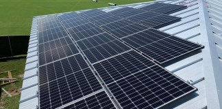 Palmer Trinity announces completion of solar photovoltaic system installation