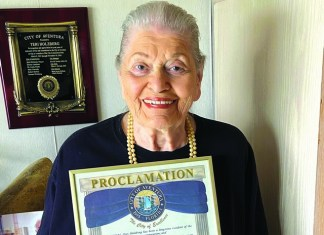 Former Aventura Comm. Teri Holzberg celebrates 90th birthday