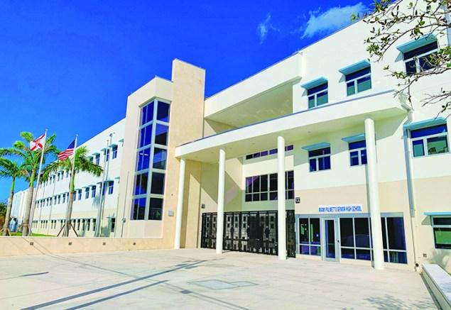 The new Palmetto Senior High School opens