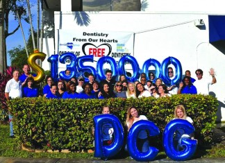 "Dental Care Group's 9th annual ""Dentistry From Our Hearts"""