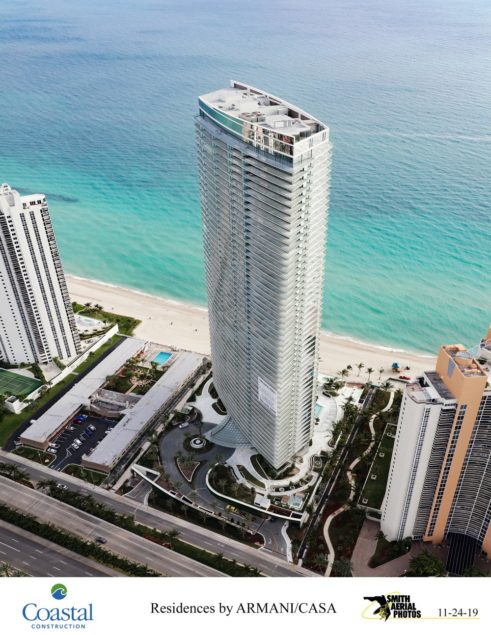 Residences by Armani/Casa pays off its $315M construction loan
