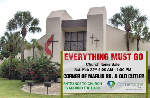 Cornerstone Church to conduct surplus equipment 'Mega-Sale'