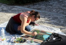 Plein Air: Painting, poetry flourish at Deering Estate