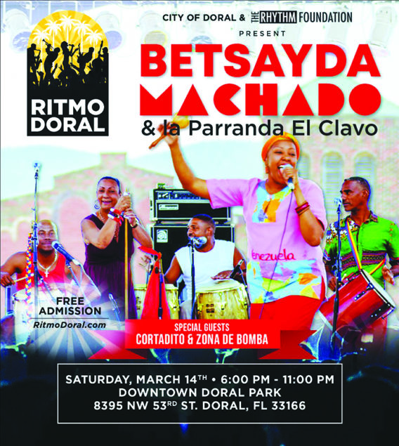 Ritmo Doral returns March 14 in Downtown Doral