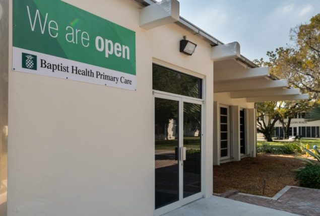 STU partners with Baptist Health to manage on-campus health clinic