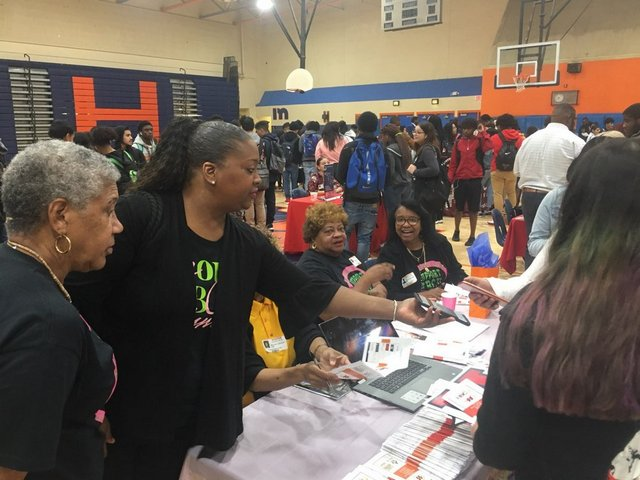 Fraternity, sorority bring HBCU opportunities to Homestead High