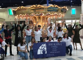 CBSHS Rho Kappa Honor Society students perform for community