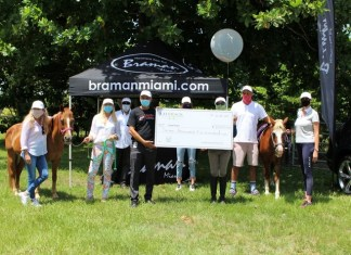 Braman Bentley hosts Ice Cream Social Distancing event benefiting children