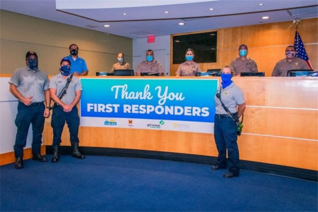 Cutler Bay recognizes first responders with ceremony