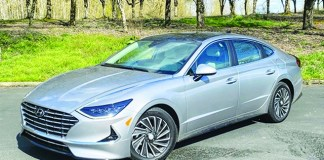 2020 Sonata Hybrid Limited redesigned and ready to ride