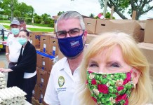 Pinecrest residents' foundation makes challenge grant for Shelter Box USA