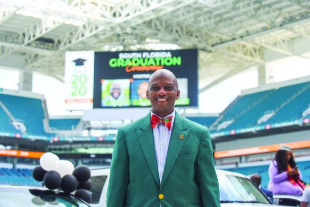 South Florida Grad Parade & Drive-In Commencement Sponsored by Mayor Oliver Gilbert