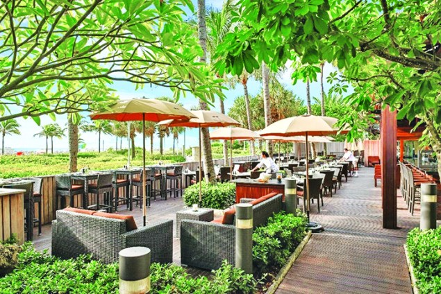 Spend summer al fresco at the Setai Miami Beach