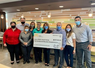 S. Florida McDonald's Restaurants, guests raise over quarter million dollars for RMHC