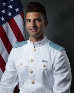 Louis Bulnes graduates from The Citadel in South Carolina