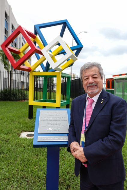 MDC's Medical Campus unveils new sculpture by Dr. Nicolas Massimini