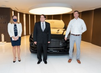 Aston Martin Residences in Miami welcomes first DBX to Americas