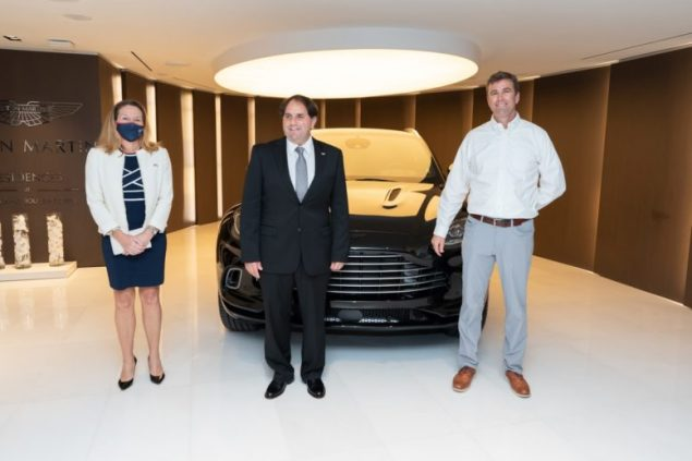 Aston Martin Residences In Miami Welcomes First Dbx To Americas Miami S Community News