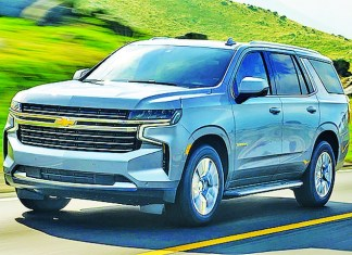 2021 Chevy Tahoe Z71 is big, bold and beautiful SUV