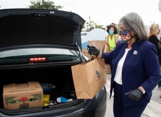 MCM event gives hungry families more than food to begin new year