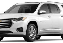 2021 Chevy Traverse AWD High Country is a family favorite