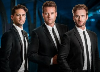 Shades of Bublé: A three-man tribute to Michael Bublé swings into Aventura Arts & Cultural Center