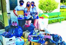 Student led effort collects more than 5,000 pairs of shoes for Camillus House
