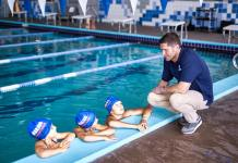 Four-time olympic gold swimmer Lenny Krayzelburg partners with the Michael-Ann Russell JCC in Miami-Dade in opening SwimRight Academy