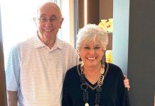 Vi at Aventura VIP's: Susan and Alan Shovers