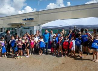 Commissioner Martinez's conducts Back-to-School Book Bag Giveaway