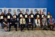 Coral Gables Police officers honored during ceremony