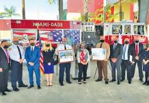 First responders honored on 20th anniversary of 9/11