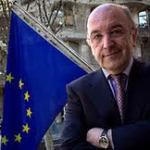 El Vicepresidente de la Comisión Europea, Joaquín Almunia, en el IV Encuentro Mediario de Líderes del Seguro