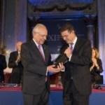 Fernando Ledesma, galardonado con el XXI Premio Pelayo para juristas de reconocido prestigio