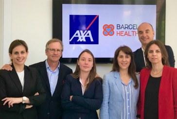 AXA Partners firma un convenio de colaboración con Barcelona Health Hub